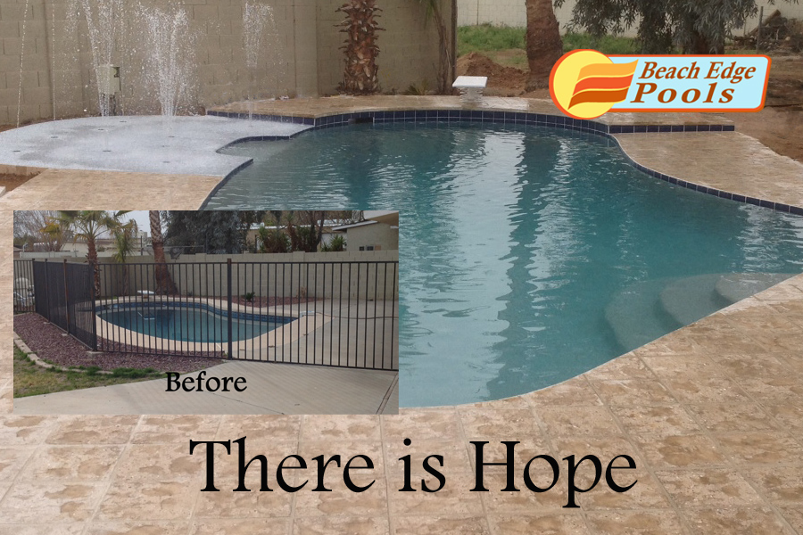 Pool remodeling - How long after pool shock before swim ...